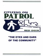 Red Deer City Citizens On Patrol